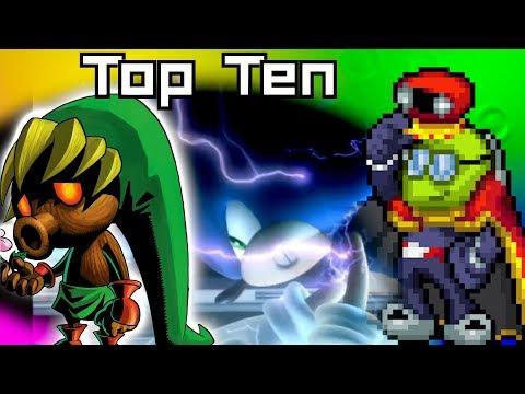 Top Ten Transformations in Video Games