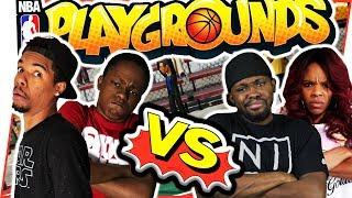 CRAZY SHOWDOWN! WHO RUNS THE PLAYGROUND?! - NBA Playgrounds Gameplay