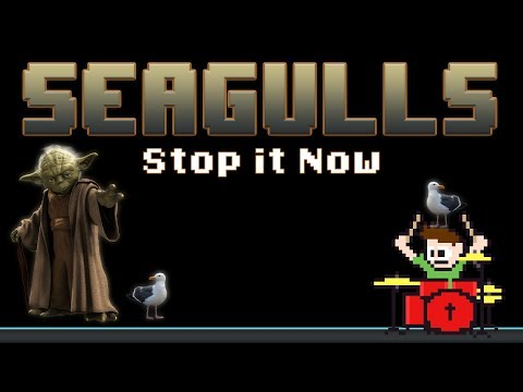 SEAGULLS [Stop It Now] - Bad Lip Reading (Blind Drum Cover) -- The8BitDrummer - The8BitDrummer