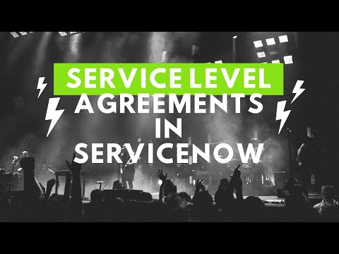 Service Level Agreements in ServiceNow - YouTube