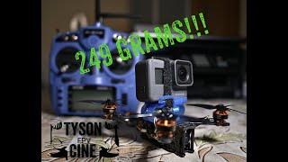 TYSON CINE FPV 249 gr NO GOPRO NAKED