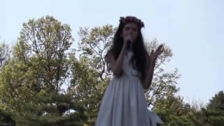 Angelina Jordan sings Alan Walker's  Faded at Muse in City festival, Seoul, South Korea, 23 04 2017