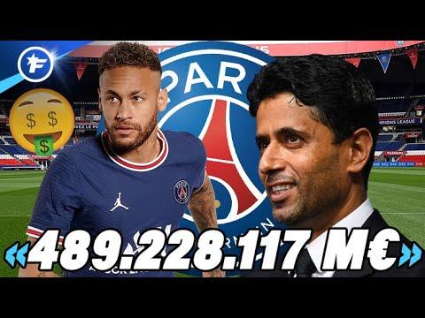 Les incroyables dessous du contrat de Neymar au PSG   Revue de presse