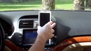 Universal Cell Phone Air Vent Mount Cradle For Cars  Galaxy Samsung iPhones and others Review