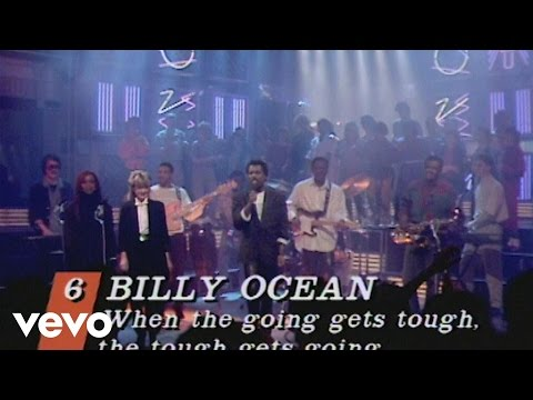Billy Ocean - When the Going Gets Tough, the Tough Get Going (Top Of the Pops 1986)