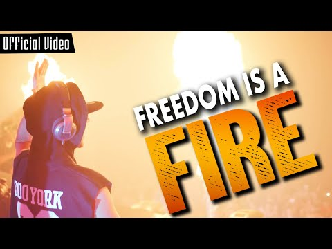 Zatox Feat. Skits Vicious - Freedom Is a Fire (Official  Video)
