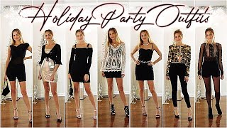 HOLIDAY PARTY OUTFITS  ⇨ What To Wear To Holiday Parties For Christmas!