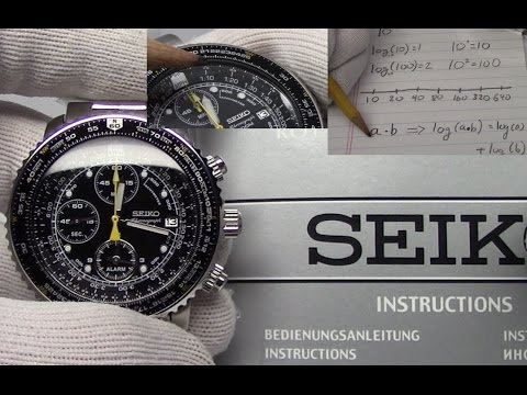 How to use a Slide Rule Bezel on your Watch. Watch and Learn #11