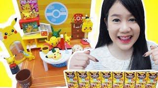 รีวิว ห้องปิกาจูจิ๋ว ♡ ของเล่นที่น่ารักสุโค่ย~【 Re-ment Pikachu room 】| คะน้า Kanakiss