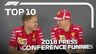 Top 10 Funniest Press Conference Moments Of 2018