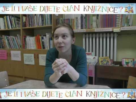 Poznati pitaju: Je li i vaše dijete član knjižnice?, priča druga