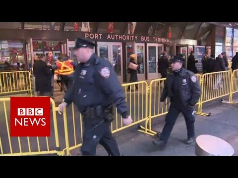 New York 'Explosion': Reports of Some Injuries   - BBC News