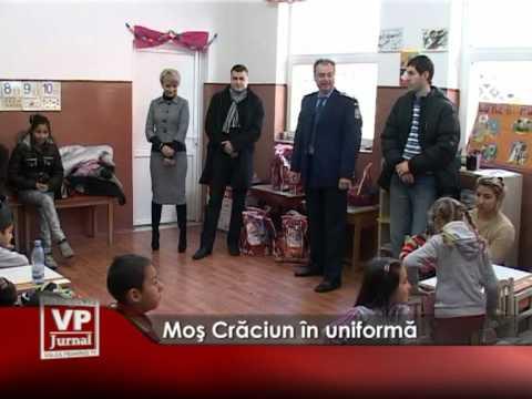 Moş Crăciun în uniformă