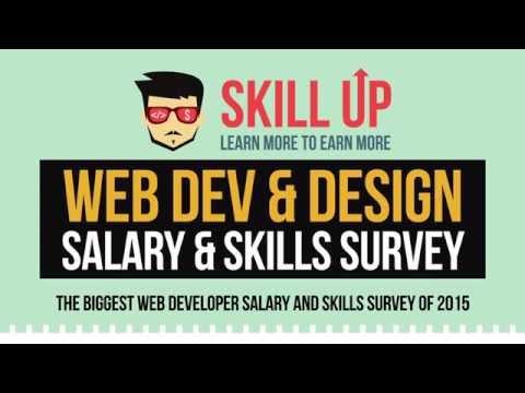 Web Dev & Design - Salary & Skills Video
