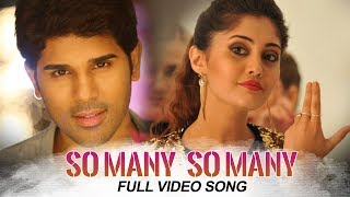 Okka Kshanam Full Video Songs - So Many So Many Full Video Song | Allu Sirish, Surbhi, Seerat Kapoor