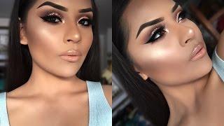Full face makeup steps