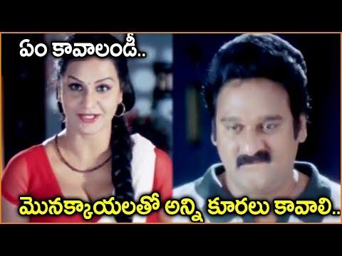 Krishna Bhagavaan, Apoorva || Telugu Movie Scenes || Best Comedy Scenes || Shalimarcinema