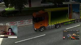 """Радуга в """"Euro Truck Simulator 2""""(Истории за Рулём)●""""Стрим Радуги"""""""
