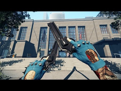 Payday 2 First World Bank One Down Hud off