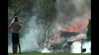 preview picture of video 'Bucks County Fire Doylestown'