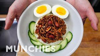 How To Make Nasi Lemak - The National Dish Of Malaysia
