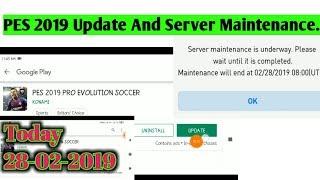 pes 2019 mobile server maintenance iphone - ฟรีวิดีโอออนไลน์