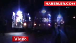 manisa kulada iki otobüsün şarampole ucdu  1 ölü  17 yaralı