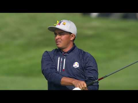 FULL replay of Rickie Fowler-Dustin Johnson Ryder Cup match Friday