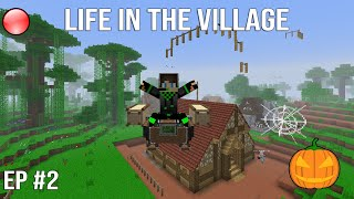 CONTINUONS NOTRE VILLAGE ! | Minecraft Moddé | Life In The Village #2