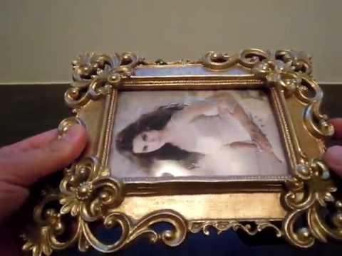 Giftgarden® Bilderrahmen 10x15 barock antik viereckig gold Rezensionen