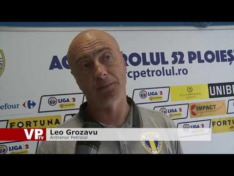 Premieră pentru Grozavu