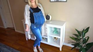 3 Maternity Outfits OOTD | Twin Pregnancy | Sarah Pope