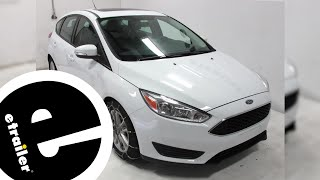 etrailer | Titan Cable Snow Tire Chain Installation - 2016 Ford Focus