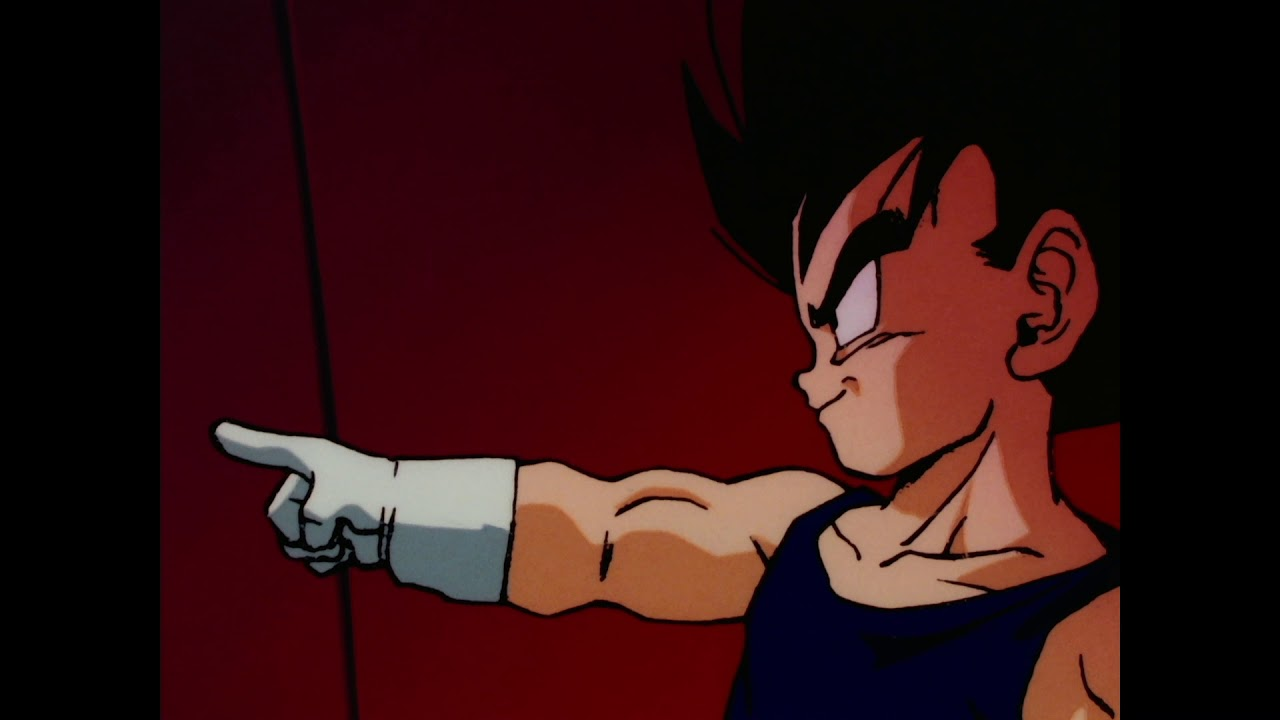 DBZ Bardok - Young Vegeta trains