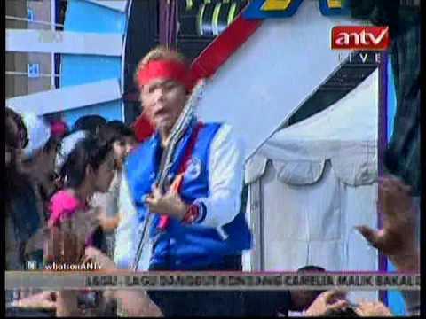 Gangsta Lovin Puts Your Hands Up Live @mantap ANTV