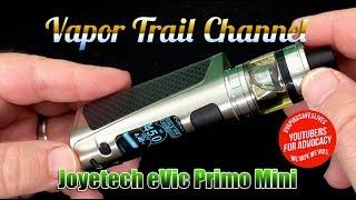 Joyetech eVic Primo Mini Kit w/ ProCore Aries Tank +Giveaway & Eureka Liquid