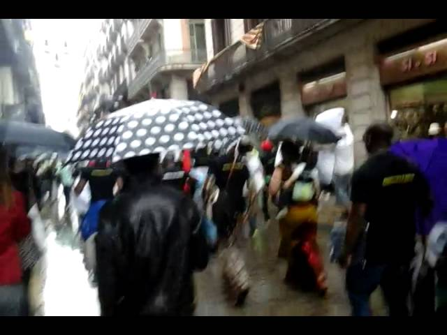 Biafra remembrance day 30th may 2014, made in spain.