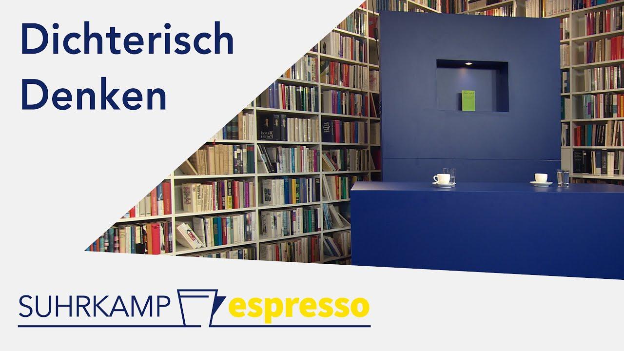 Dichterisch Denken – <i>Suhrkamp espresso</i> #25