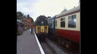 preview picture of video 'Shut that door @ North Weald (Epping/Ongar line) June 2013 'LT 150''