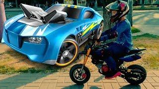 Den ride on Power POCKET BIKE to baby shop 0+