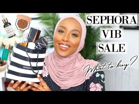 SEPHORA VIB SALE RECOMMENDATIONS + WHAT I GOT! | Spring 2019 | Aysha Harun