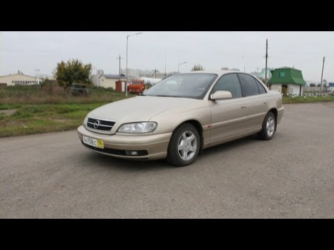 2000 Opel Omega. Start Up, Engine, and In Depth Tour.