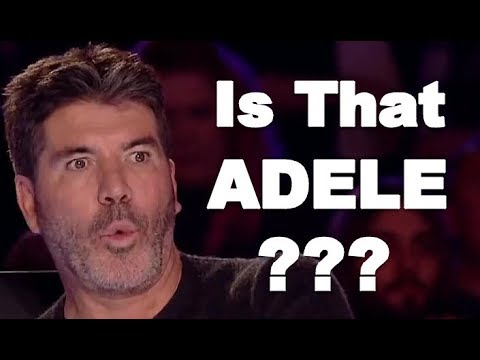ADELE VOICE, ADELE X FACTOR, BEST ADELE'S SONGS / COVERS IN THE VOICE, X FACTOR WORLD WIDE! (видео)