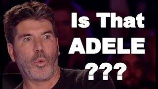 ADELE VOICE, ADELE X FACTOR, BEST ADELE'S SONGS / COVERS IN THE VOICE, X FACTOR WORLD WIDE! - Video Youtube