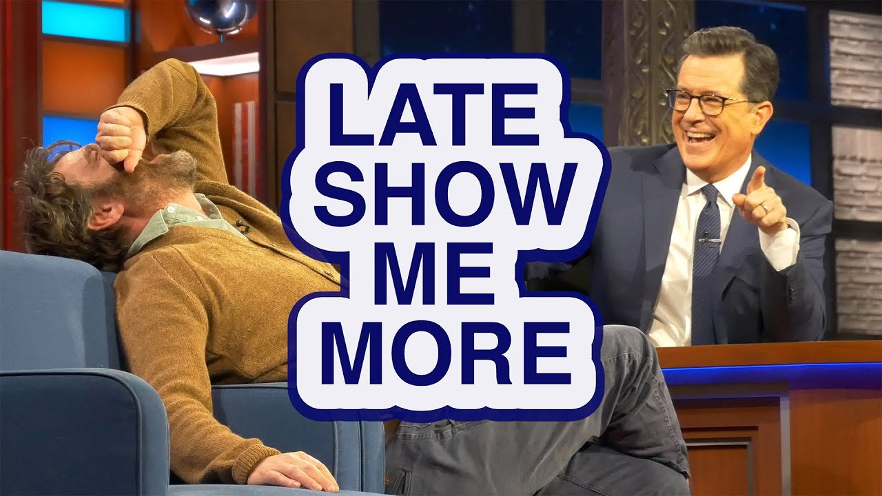LATE SHOW ME MORE: Get Your Head In The Game! thumbnail