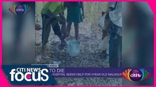 Citi News Focus: 4-year-old boy tied to mango tree by his grandmother cries for help