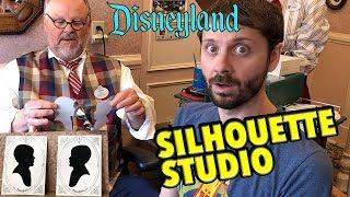 Getting My Silhouette Made In Disneyland!