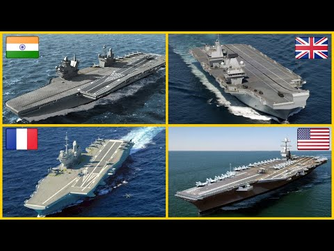 Top 10 Largest Aircraft Carriers In the World (By Class)