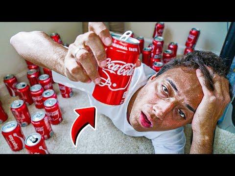O que acontece se você beber Coca Cola por 24 horas?