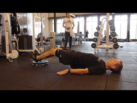 Supine Cable Hamstring Curl